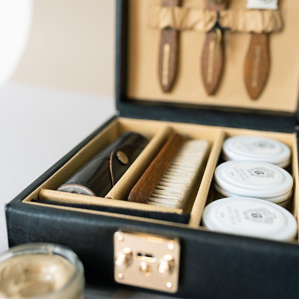 Schuhpflegebox Alessia 2 personalisiert