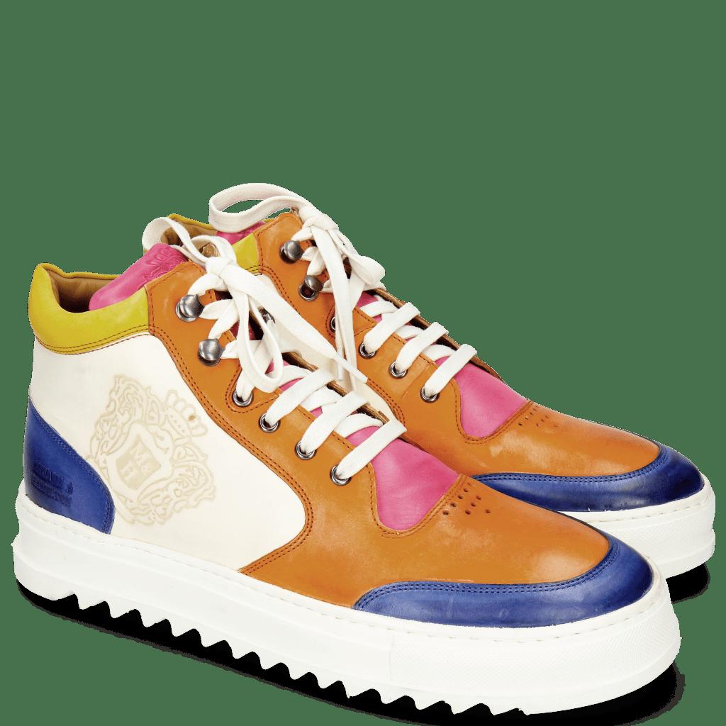 Sneakers Max 1 Vegas Electric Blue Tibet Dark Pink White Sun