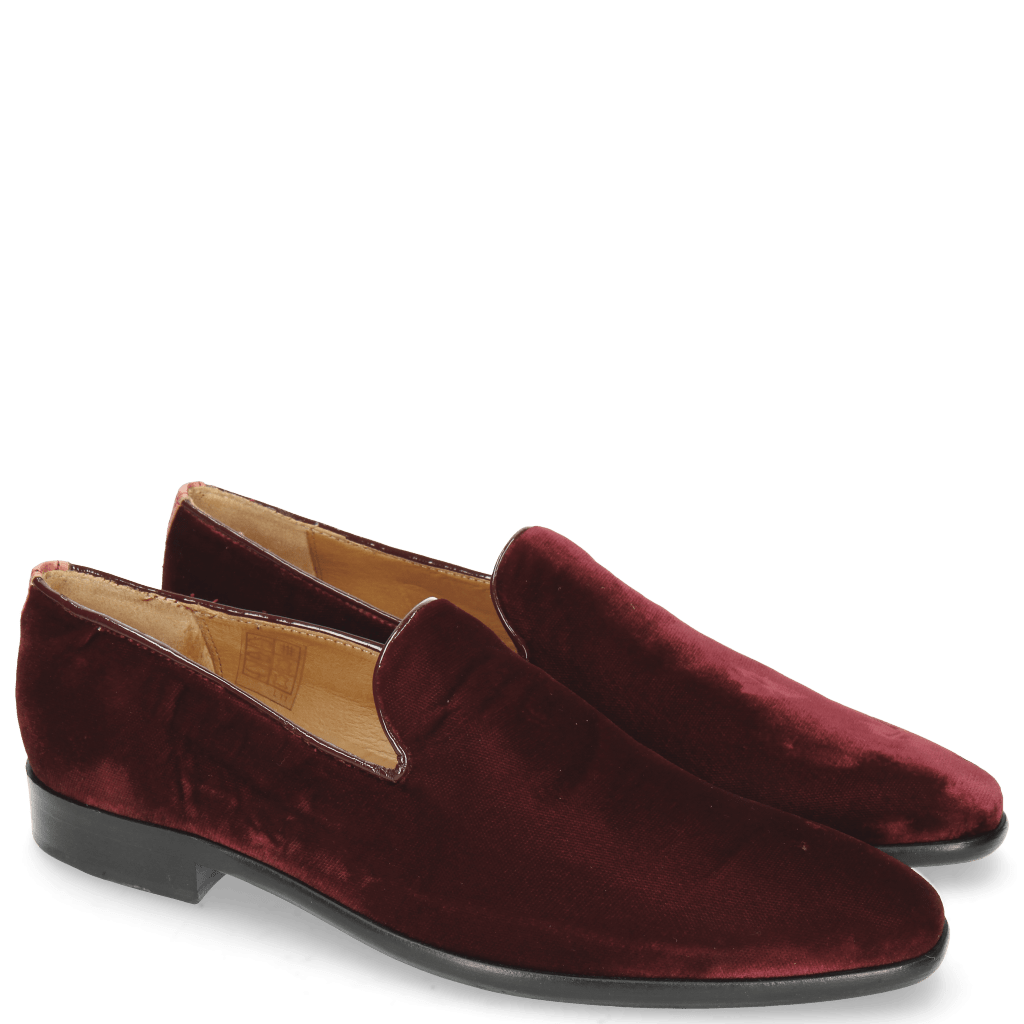 Loafers Emma 9 Velluto Wine