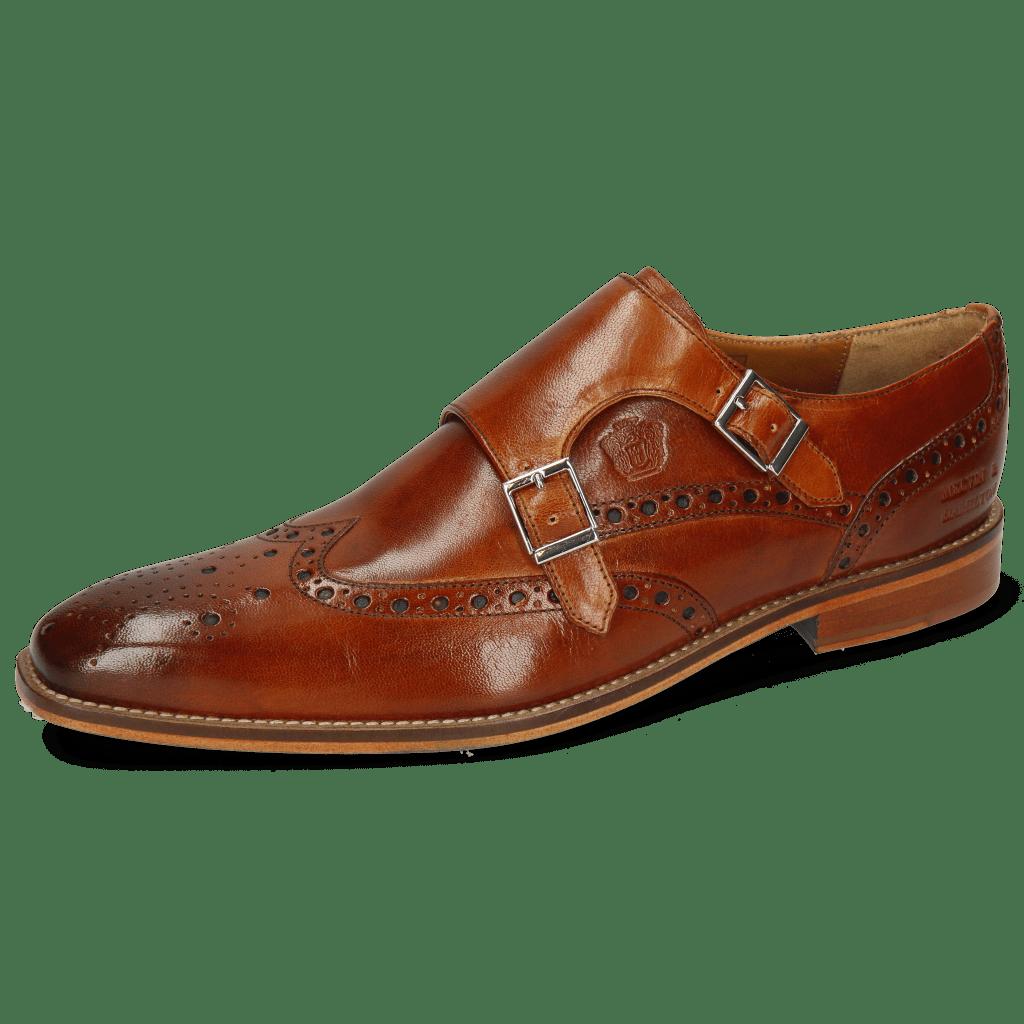 Monk Schuhe Martin 2 Venice Tan