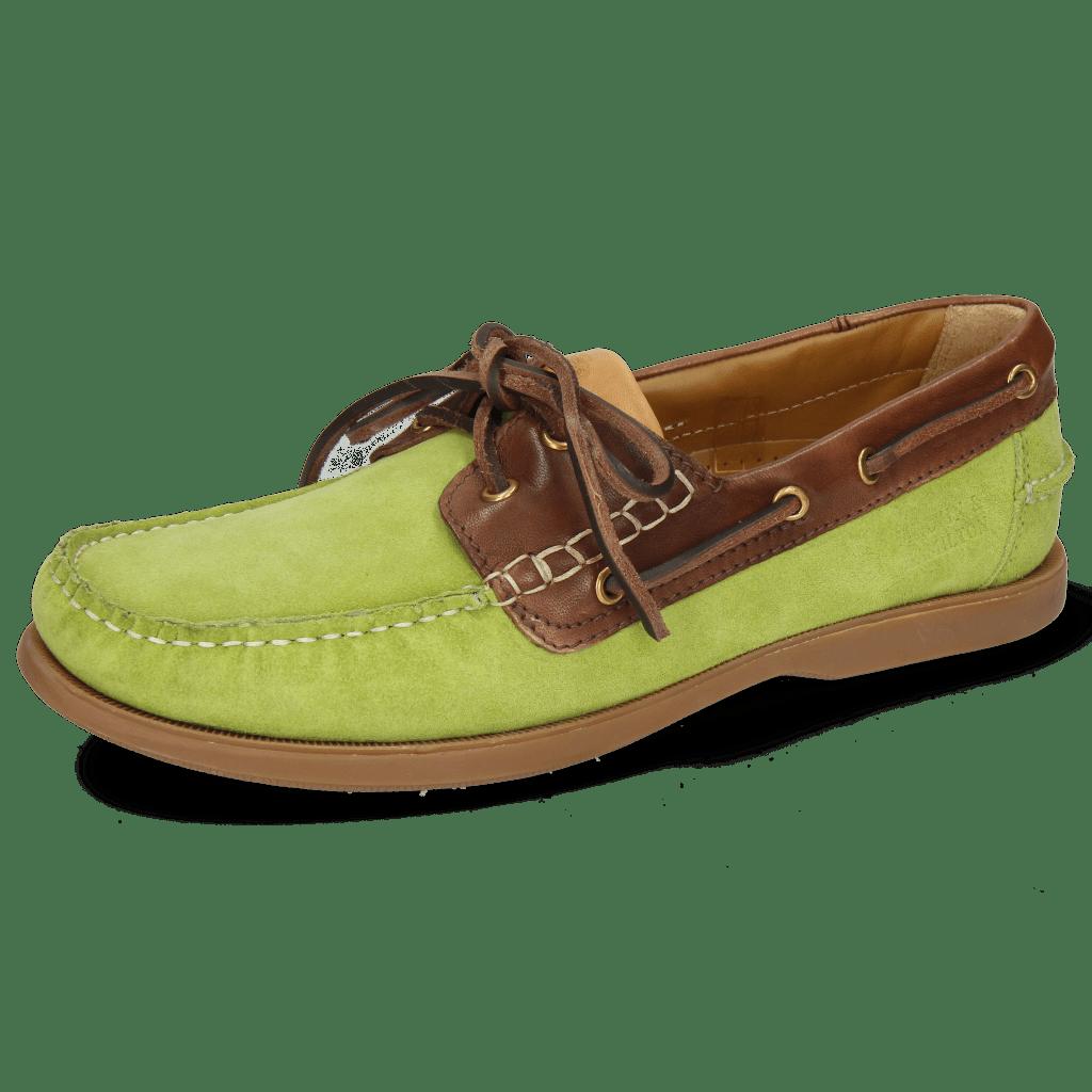 Bootsschuhe Jason 1 Suede Pattini New Grass Rio Mogano