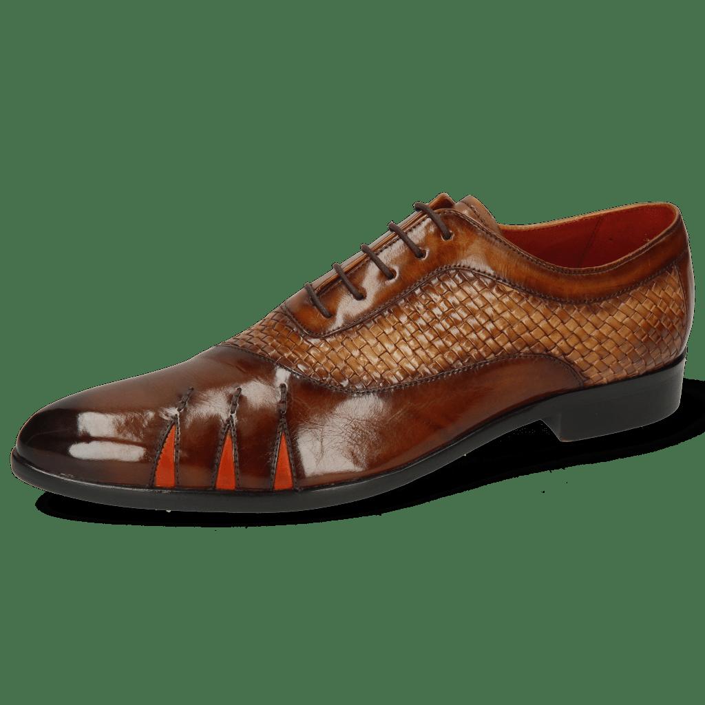 Oxford Schuhe Toni 44 Mesh Wood Sand Shade Brown