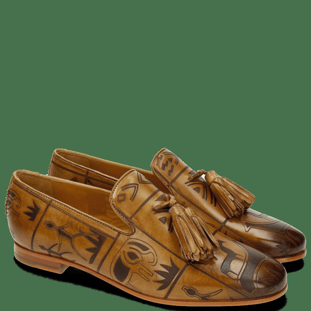Loafers Scarlett 20  Cashmere Lasercut Folk