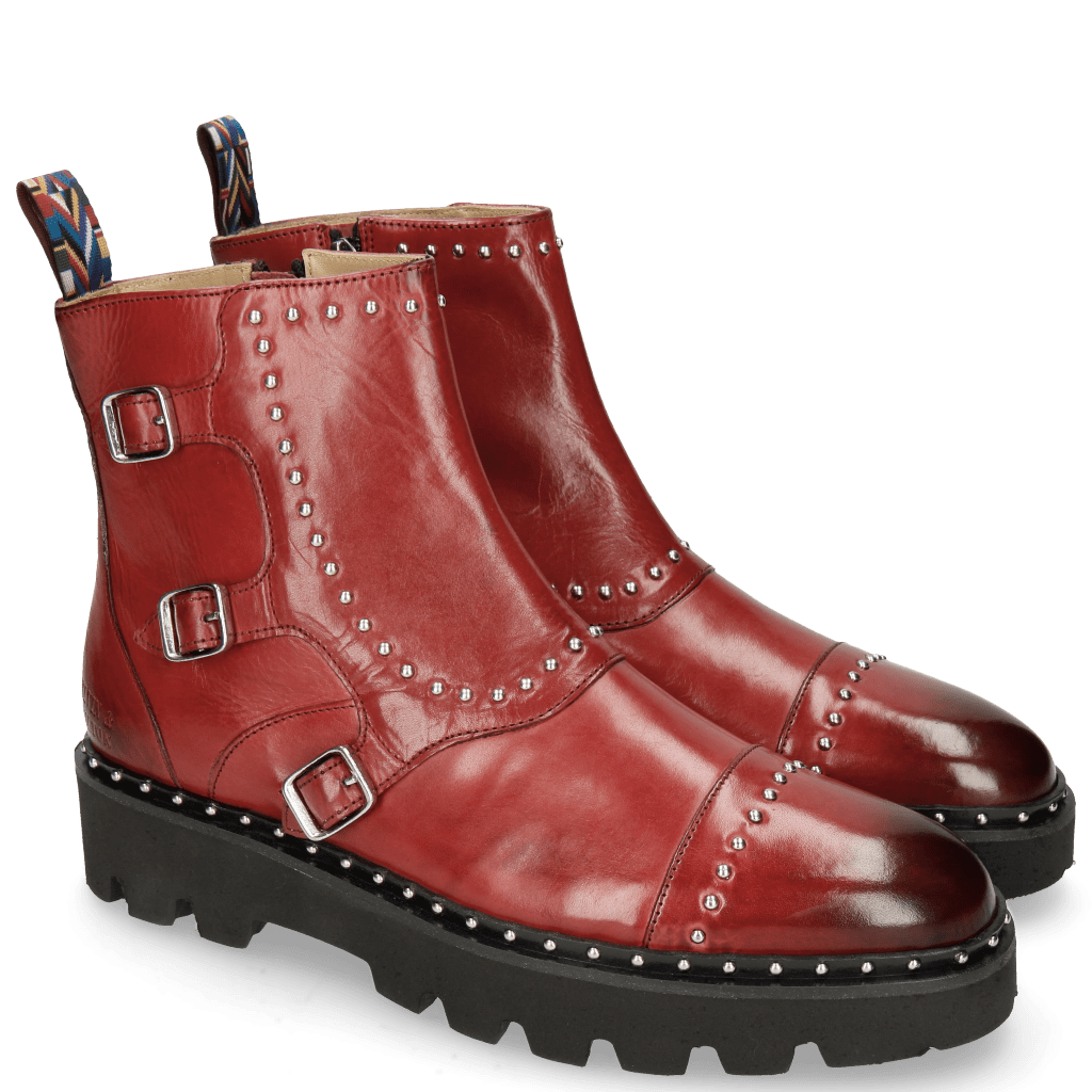 Stiefeletten Susan 45 Ruby Rubber Sole Black