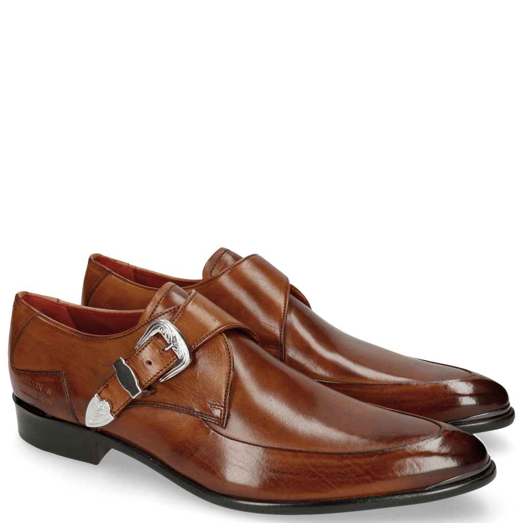 Monk Schuhe Toni 24 Wood Toe Accessory Back