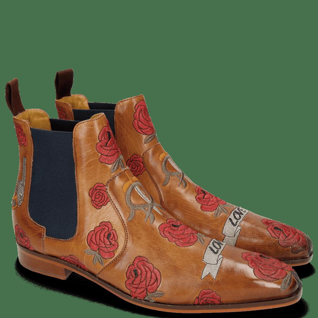 Stiefeletten Jordan 2 Indus Tan Embroidery Bee