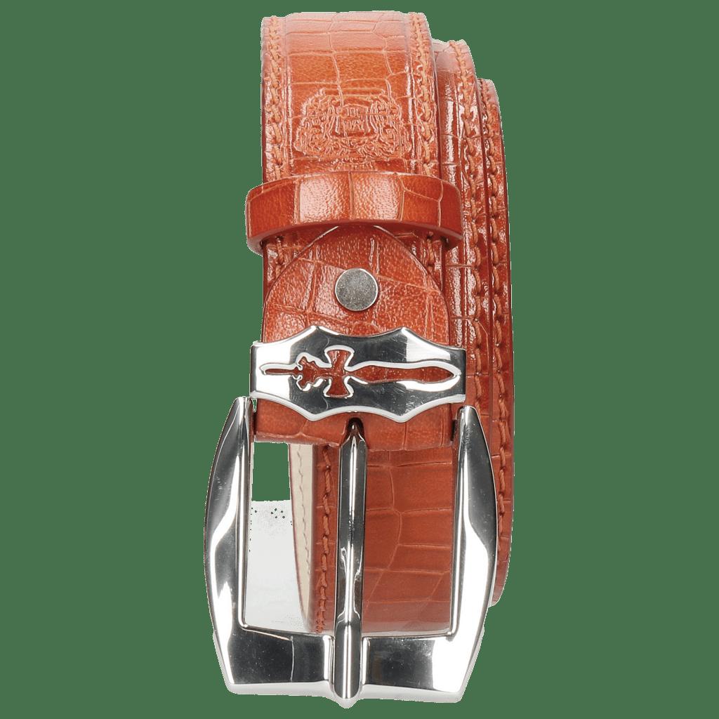 Gürtel Larry 1 Crock Winter Orange Sword Buckle