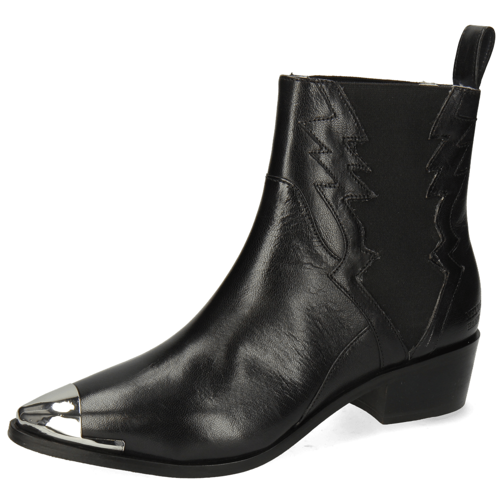 Stiefeletten May 1 Nappa Black Toe Metal