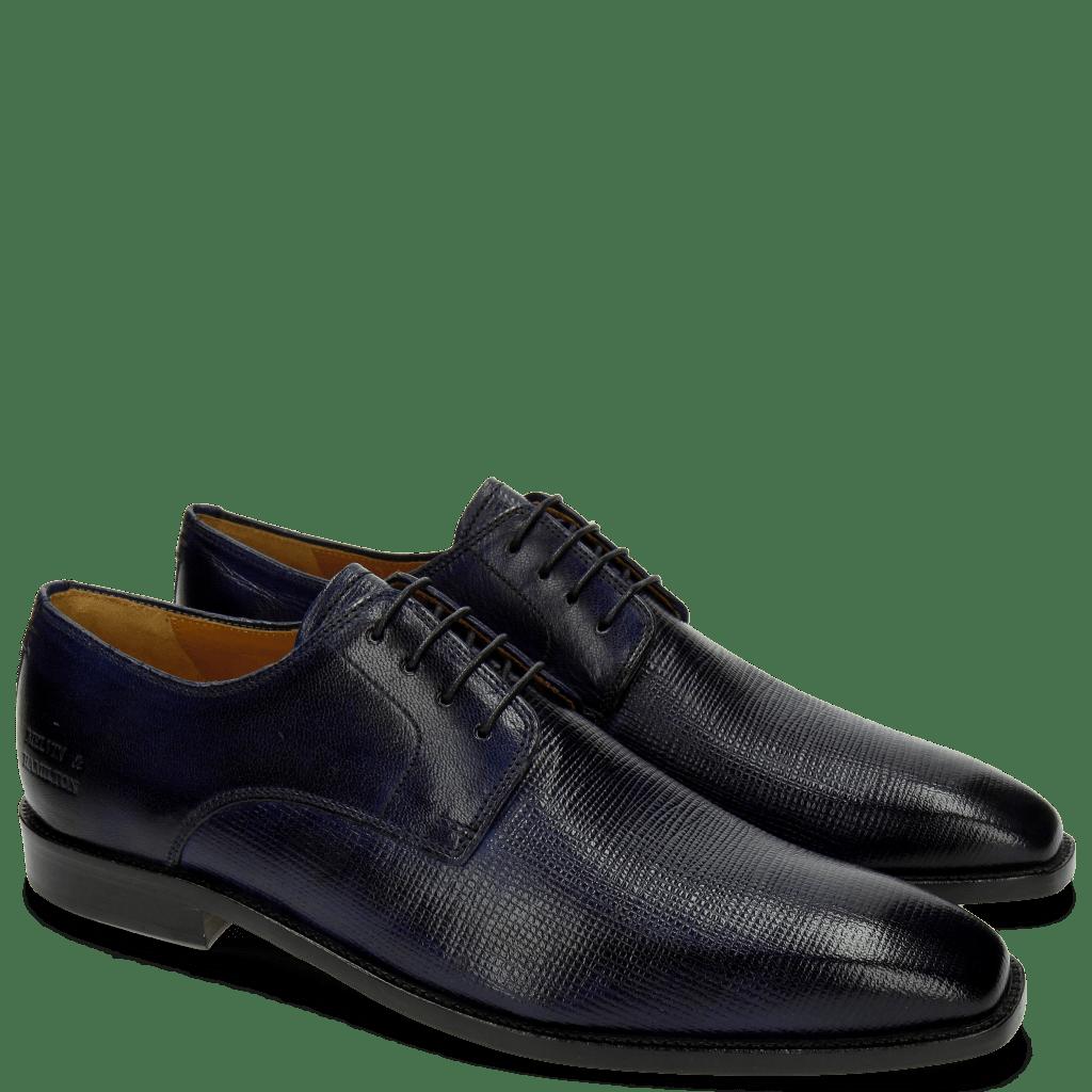 Derby Schuhe Alex 1 Venice Haina Venice Navy