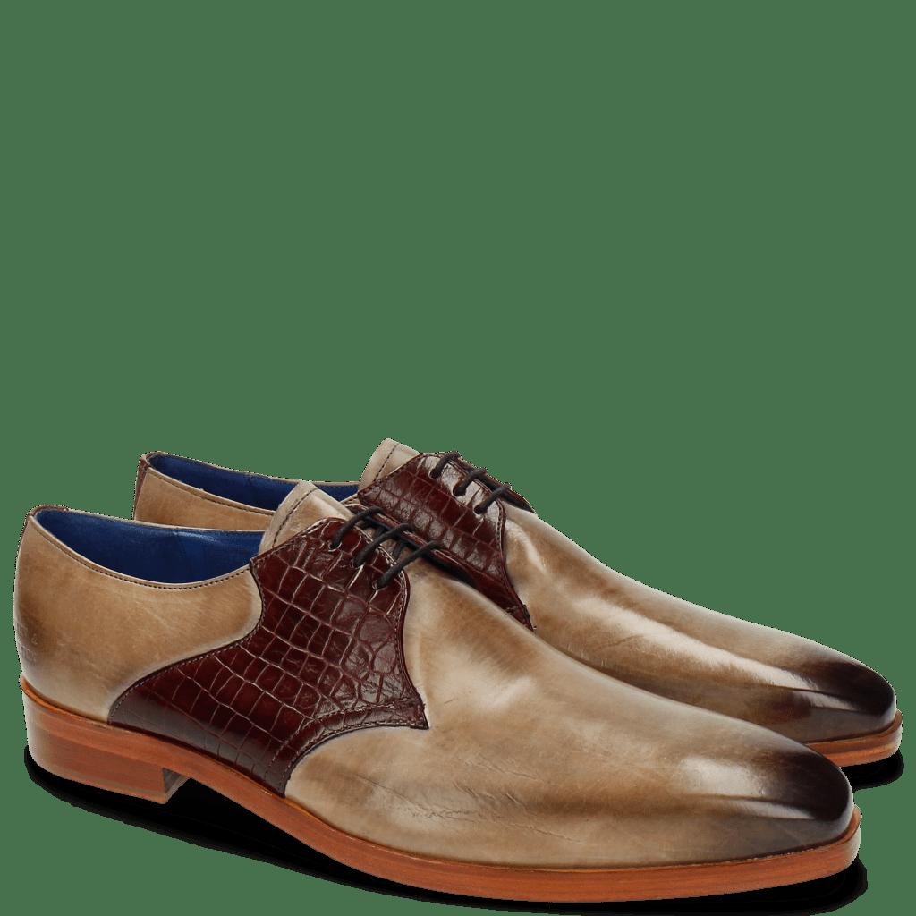 Derby Schuhe Lewis 29 Rocco Oxygen Burgundy LS
