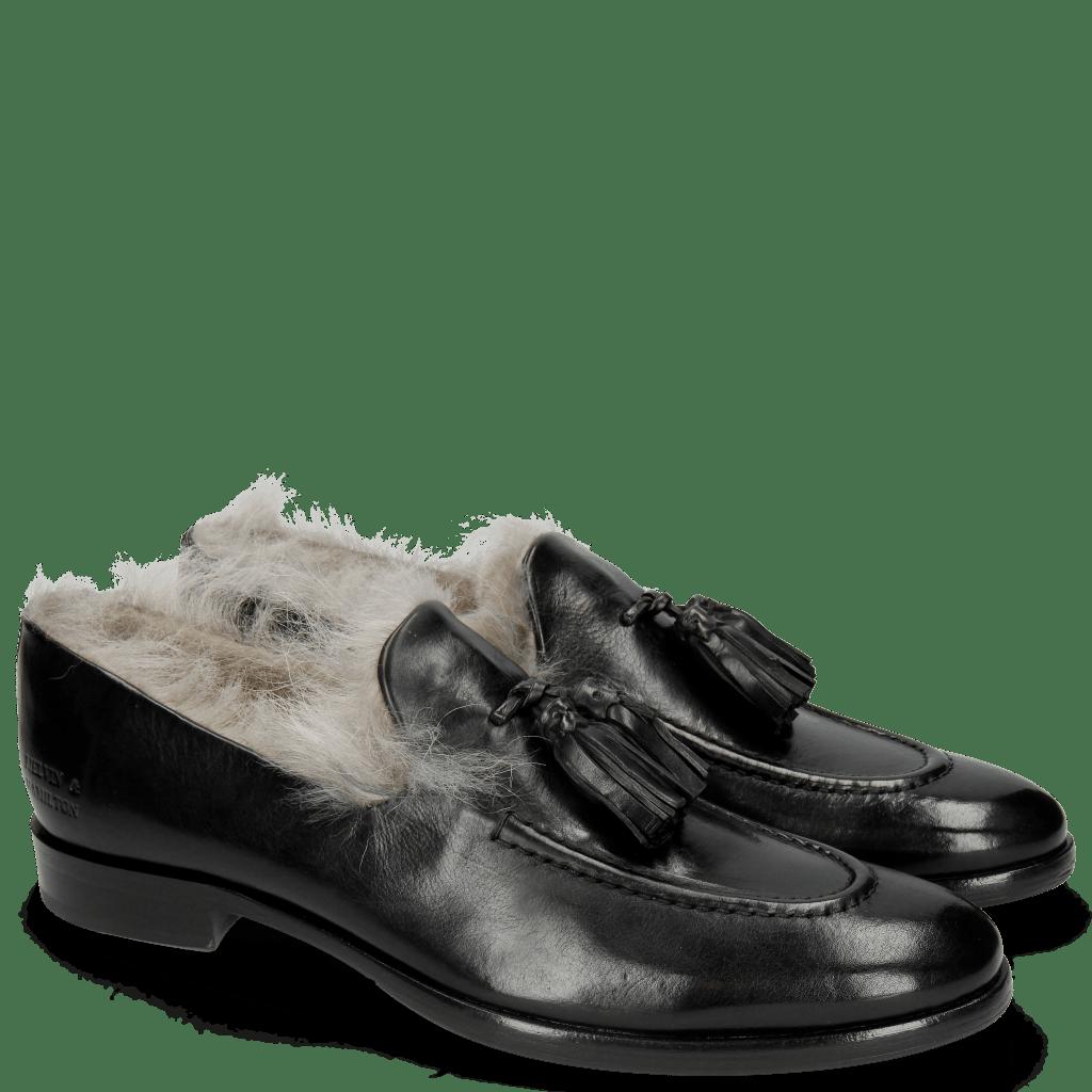 Loafers Clint 6 Black Tassel