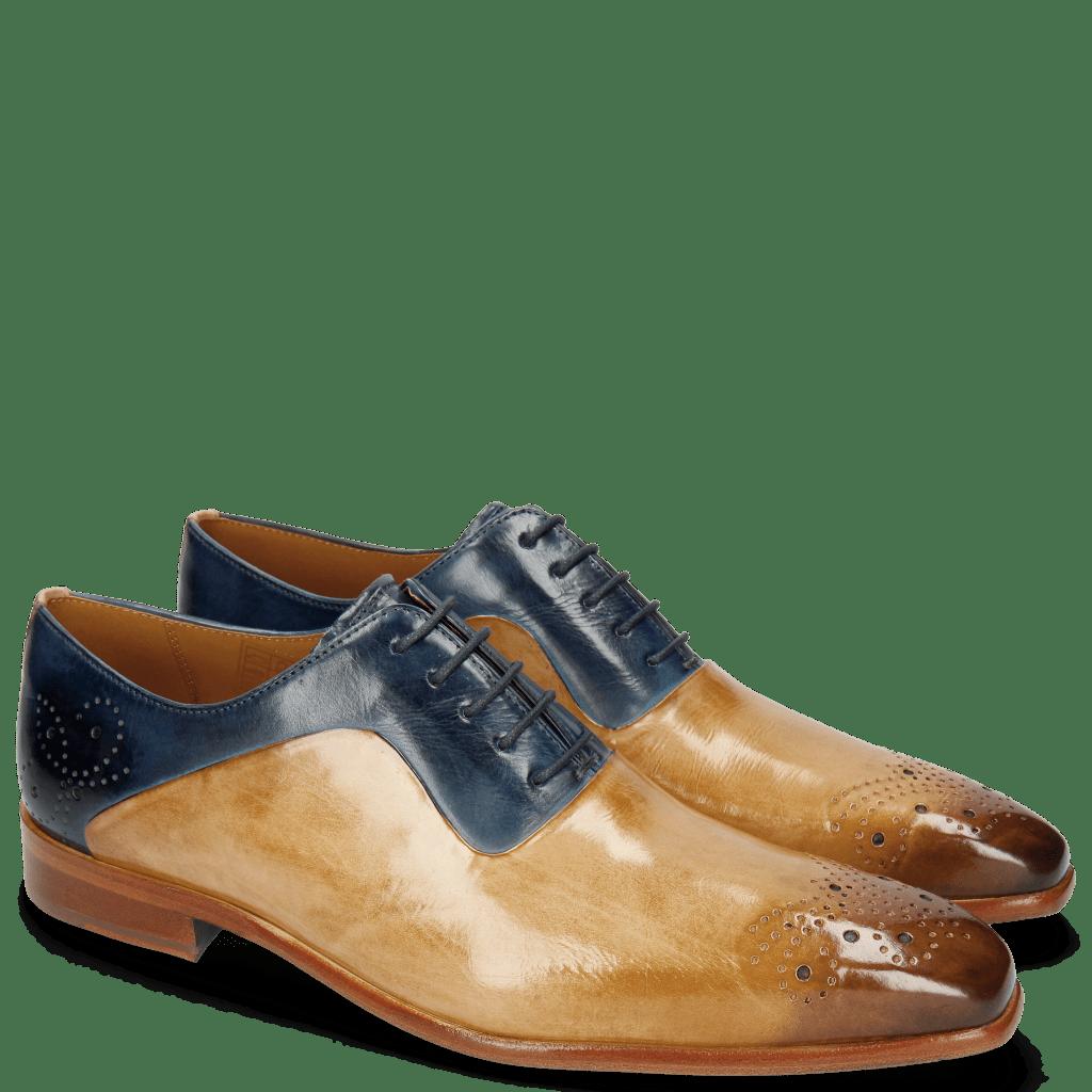 Oxford Schuhe Ethan 31 Nude Wind
