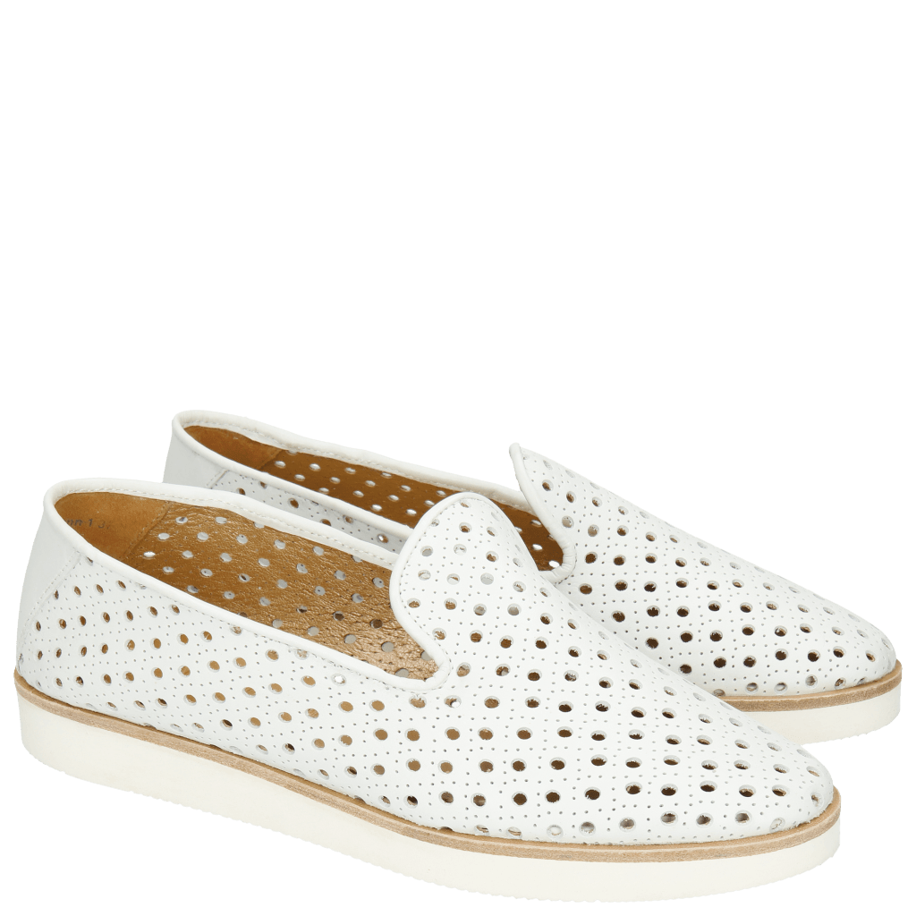 Loafers Linn 1   Powder White XL Malden