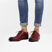 Derby Schuhe Amelie 3 Ruby