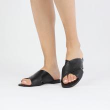Pantoletten Elodie 47 Nappa Black Lining Nappa Foam