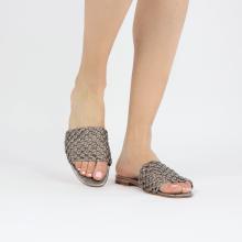 Pantoletten Elodie 32 Mignon Steel Footbed