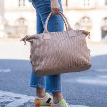 Handtaschen Kimberly 2 Woven Brume