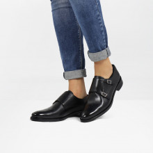Monk Schuhe Betty 9 Black