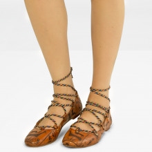 Ballerinas Kate 20 Tan Lasercut