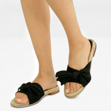 Pantoletten Patty 1 Suede Black