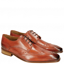 Derby Schuhe Clark 1 Orange