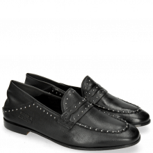 Loafers Scarlett 42 Pavia Black Nappa Glove