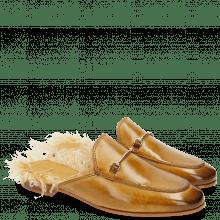 Pantoletten Scarlett 4 Sand Footbed Feather
