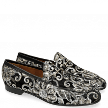 Loafers Scarlett 1 Zardosi Black