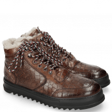 Sneakers Max 1 Crock Mogano Elastic French Laces Illary Black
