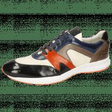 Sneakers Blair 9 Imola Black Navy Sweet Heart Stone Perfo White