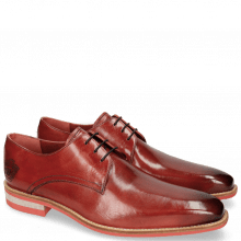 Derby Schuhe Lance 24 Ruby Lasercut Crown