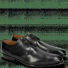 Derby Schuhe Ethan 14 Black