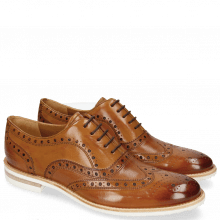 Oxford Schuhe Clint 23 Pavia Tan Insole Flex