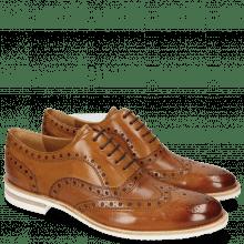 Oxford Schuhe Clint 23 Pavia Tan Insole Flex