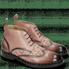 Stiefeletten Sally 30 Rosa Fermont Copper Textile