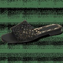 Pantoletten Elodie 32 Mignon Black Binding