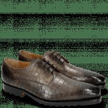 Derby Schuhe Stanley 2 Crock Grigio St. Moritz