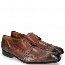 Derby Schuhe Clark 1 Crock Wine