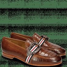 Loafers Scarlett 21 Crock Milano Tan Buckle Phyton