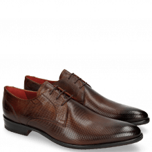 Derby Schuhe Toni 1 Dice Wood Modica Red
