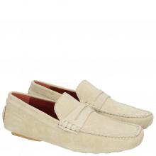 Loafers Driver 4  Suede Beige RS