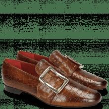 Loafers Luna 3 Crock Wood Rivets Gold