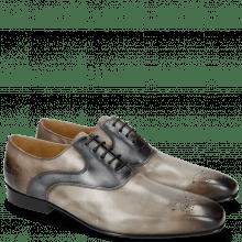 Derby Schuhe Ethan 11 Stone Navy