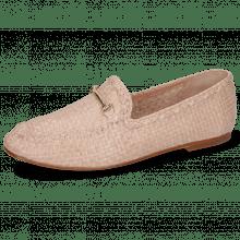 Loafers Aviana 1 Woven Lavanda Trim Gold