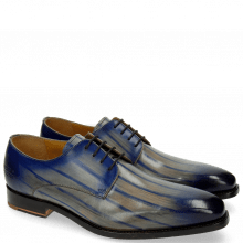 Derby Schuhe Kylian 4 Clear Water Lines Electric Blue
