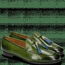 Loafers Scarlett 3 Ultra Green Tassel Shock