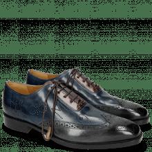 Oxford Schuhe Jeff 27 Grigio Helio Wine HRS