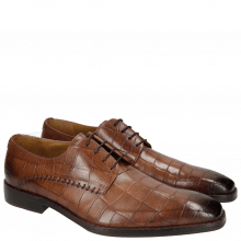 Derby Schuhe Clark 18 Turtle Dark Brown