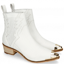 Stiefeletten May 1 Nappa White Toe Cap