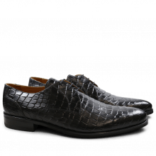 Derby Schuhe Toni 1 F T Crock Black Modica Black